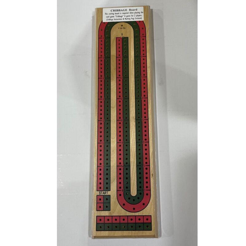 Cribbage  Flat 2 Track Coloured