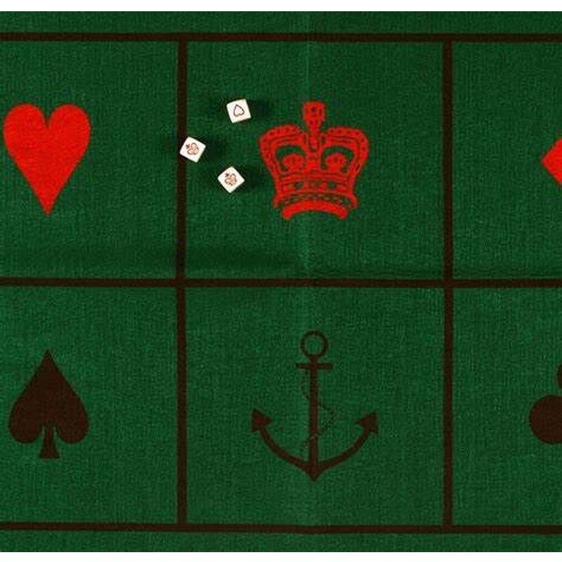 Crown and Anchor Gaming Mat