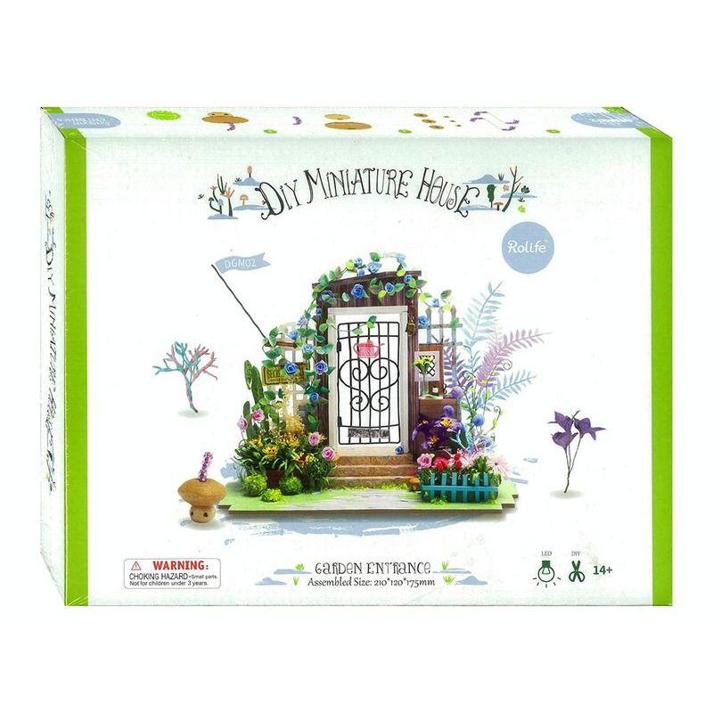 DIY House   Mini Entertainment Garden