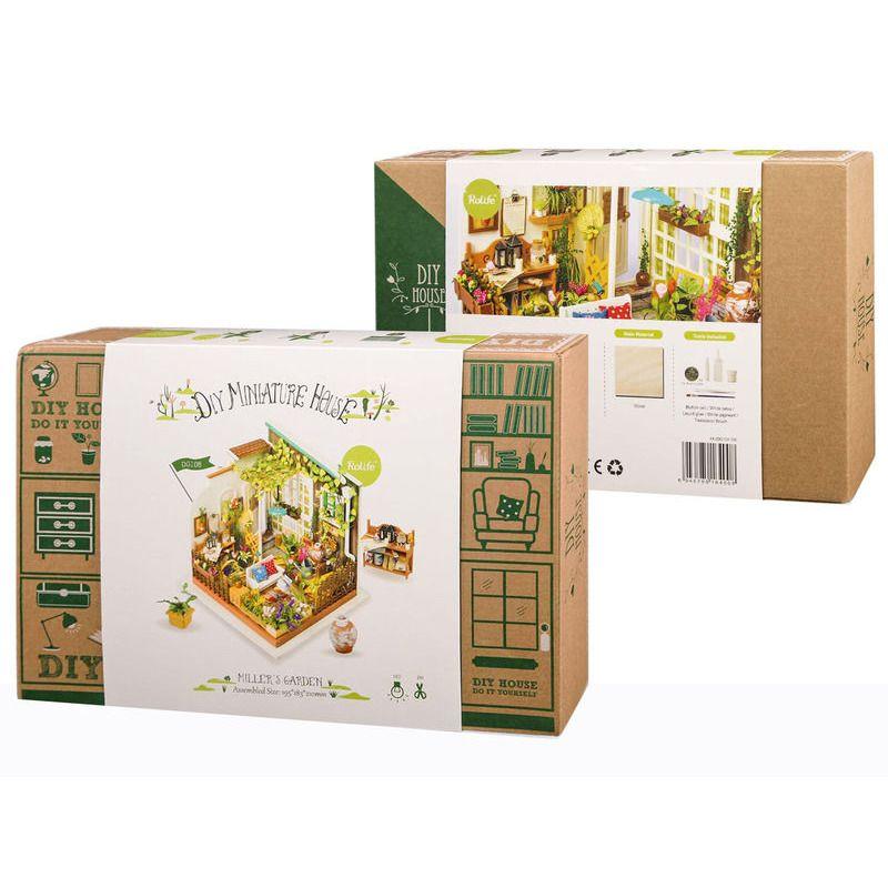 DIY House   Mini House Miller+39s Garden