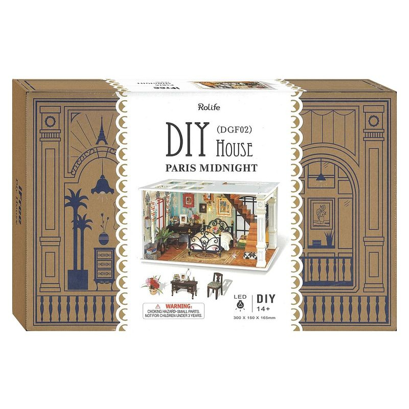 DIY  Mini House Paris Midnight