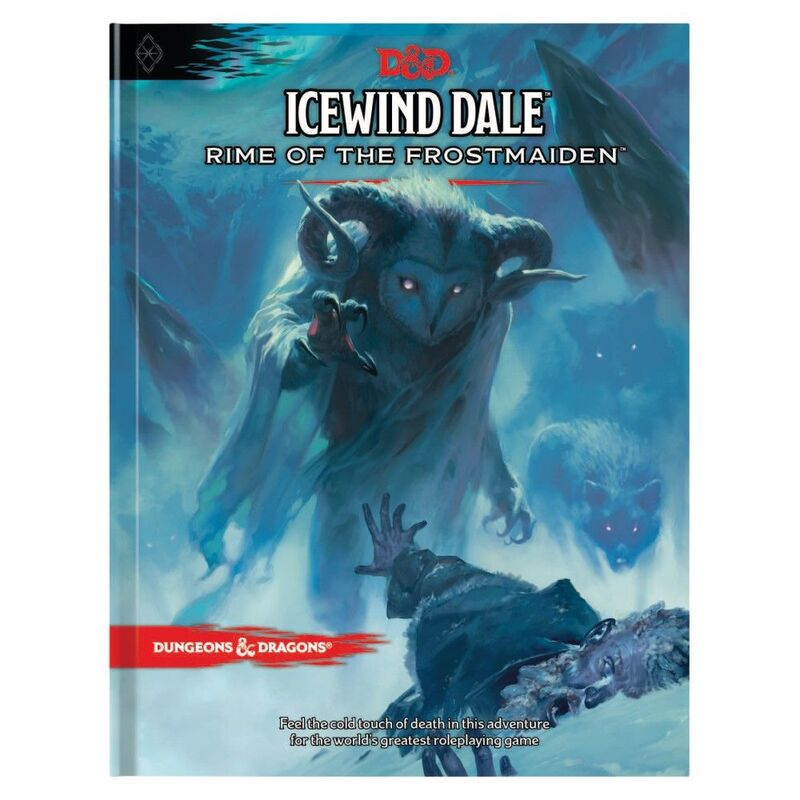DND  Icewind Dale Rime of the Frostmaiden