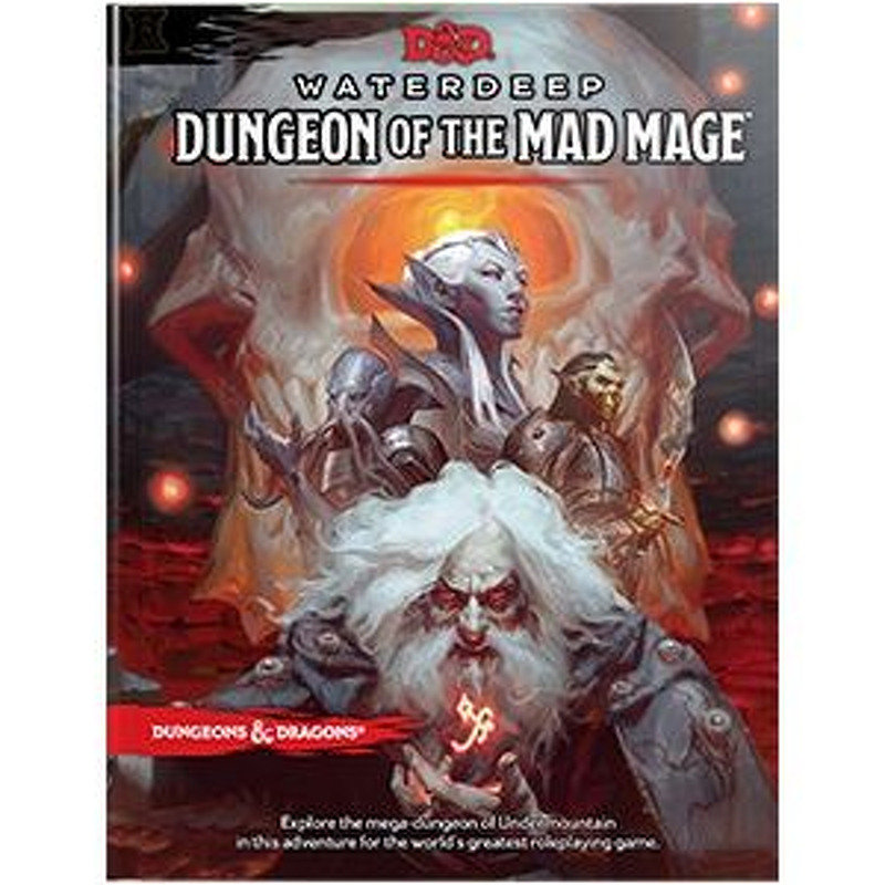 DND  Waterdeep Dungeon of the Mad Mage