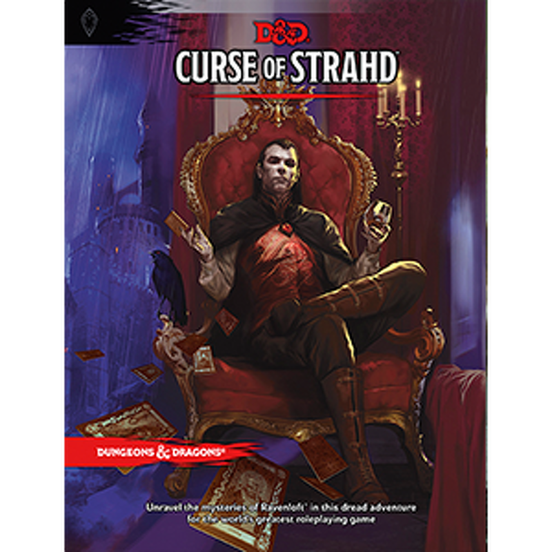 D and D  Curse of Strahd