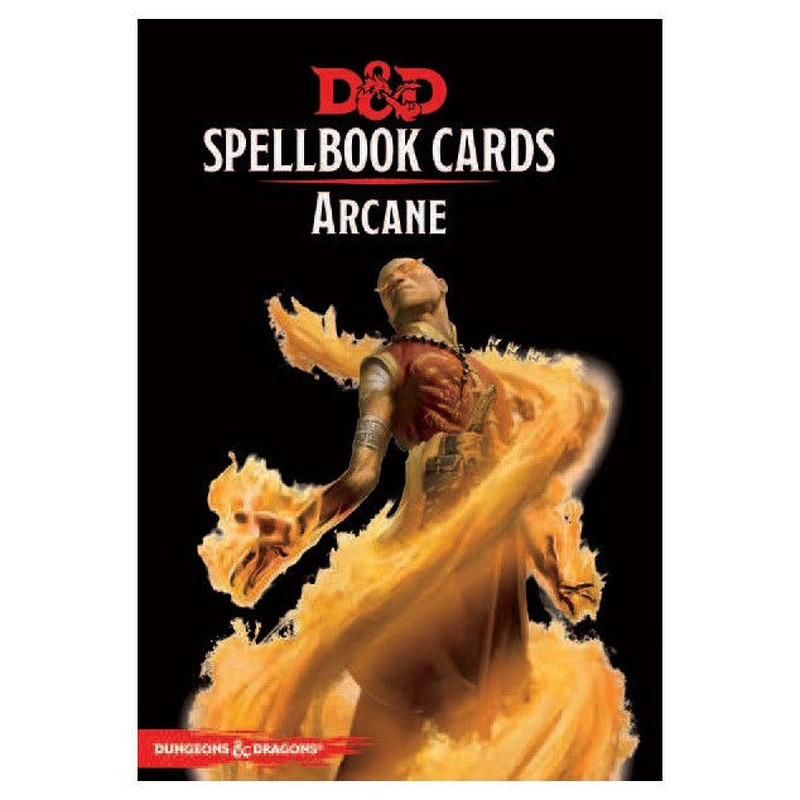 DandD Spellbook Cards  Arcane 2017 Revised