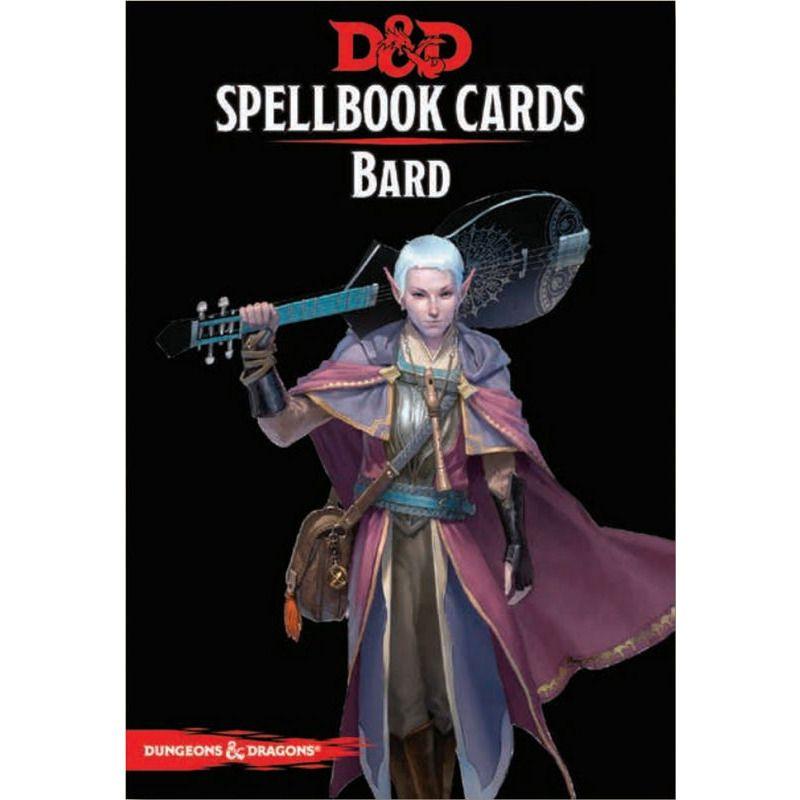 DandD Spellbook Cards  Bard 2017 Revised