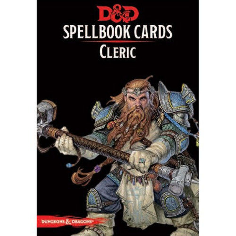 DandD Spellbook Cards  Cleric