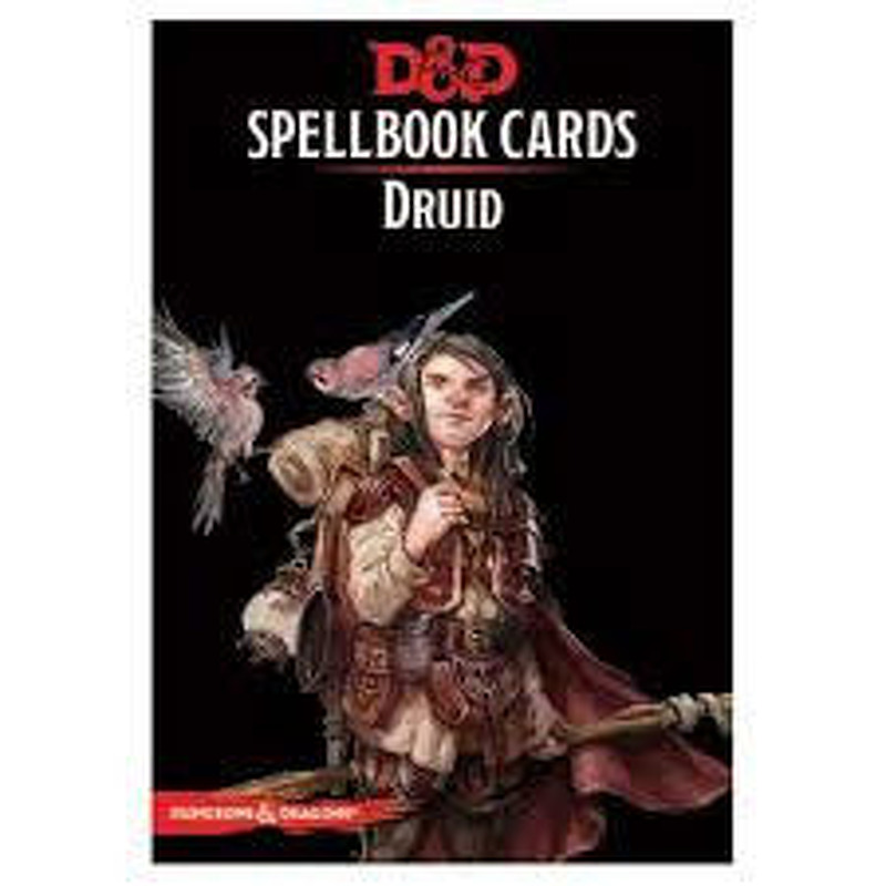 DandD Spellbook Cards  Druid