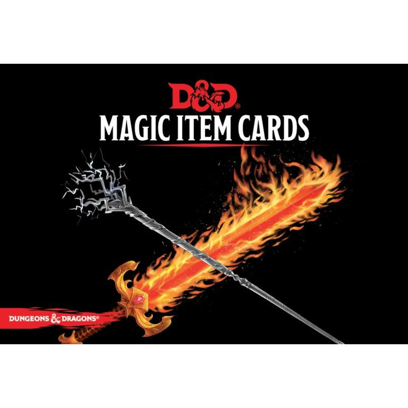 DandD Spellbook Cards  Magic Item Deck