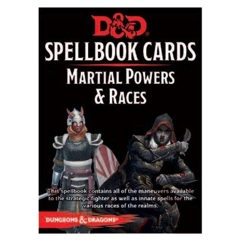 DandD Spellbook Cards  Martial Deck 2017 Revised