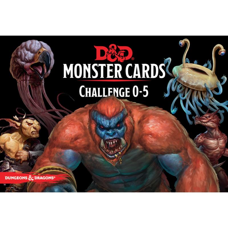DandD Spellbook Cards  Monster Deck 05