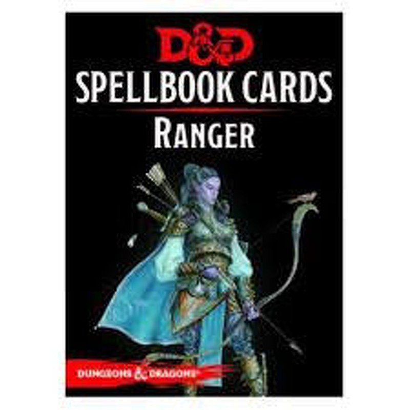 DandD Spellbook Cards  Ranger 2017 Revised