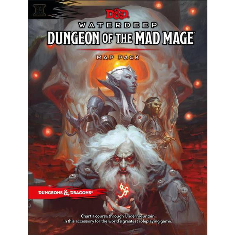 DandD  Dungeons of the Mad Mage Maps and Miscellany