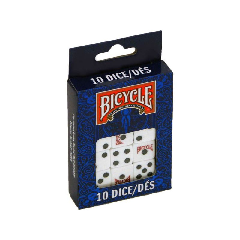 Dice  Bicycle Pack of 10 Dice