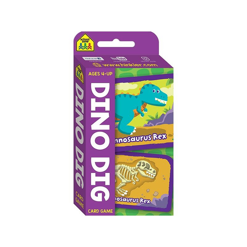 Dino Dig Card Game