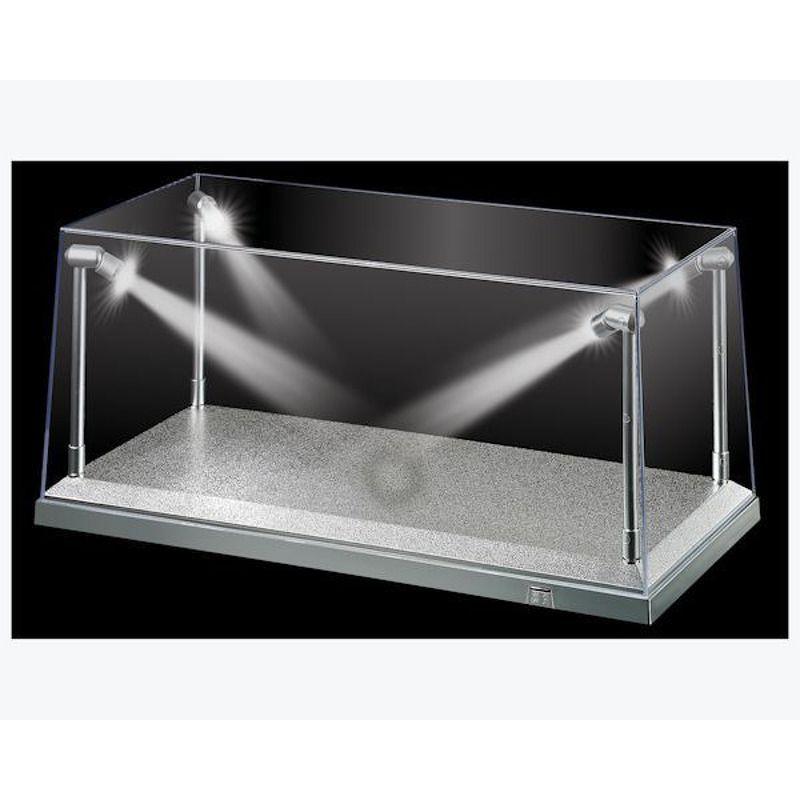 Display Case  Silver Base