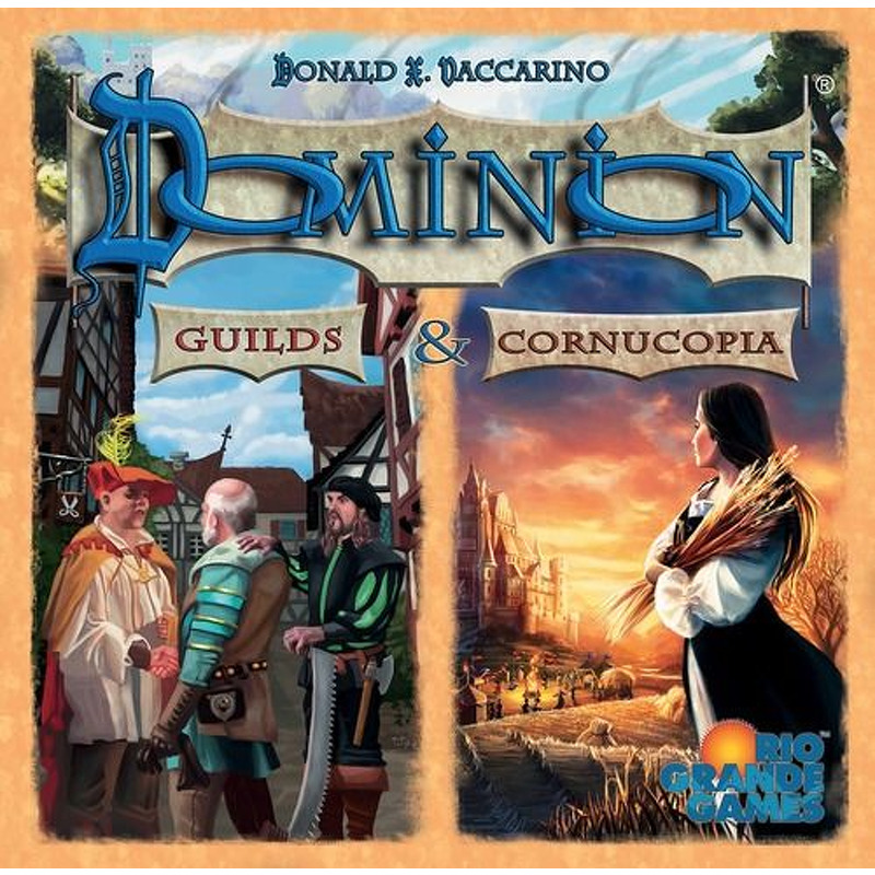 Dominion  Guilds and Cornucopia
