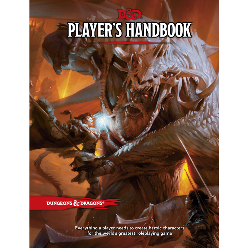 Dungeons + Dragons 5th Edition   Player+39s Handbook
