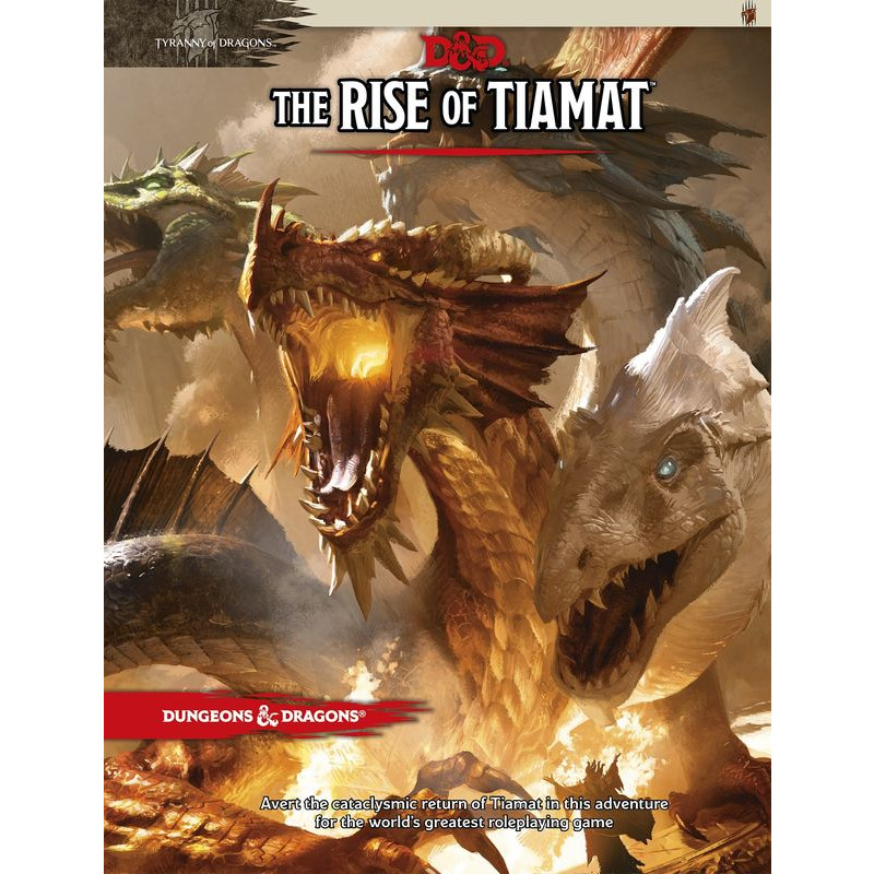 Dungeons +amp Dragons   Adventure The Rise of Tiamat
