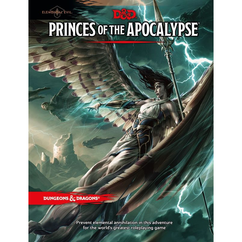 Dungeons +amp Dragons   Princes of the Apocalypse