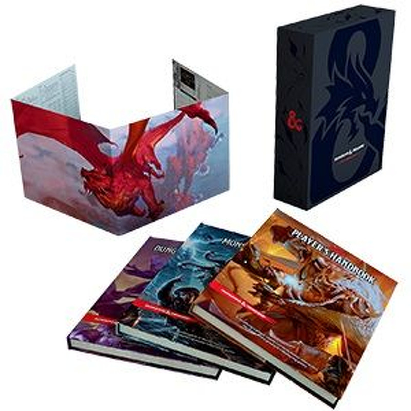 Dungeons and Dragons Core Rulebook Gift Set