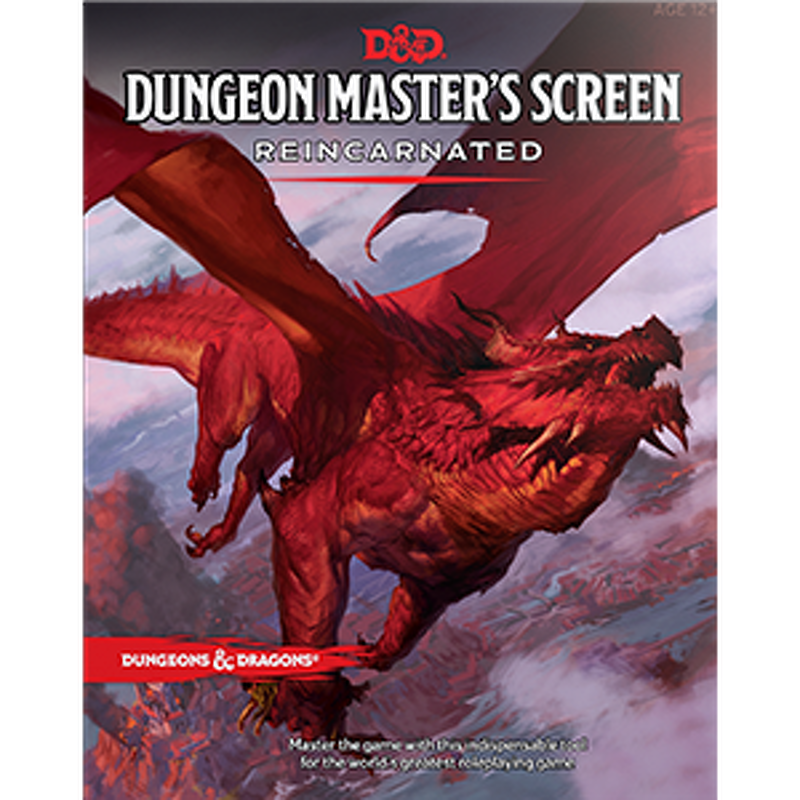 Dungeons and Dragons  Dungeon Masters Screen Reincarnated