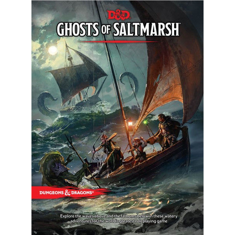 Dungeons and Dragons  Ghosts of the Saltmarsh