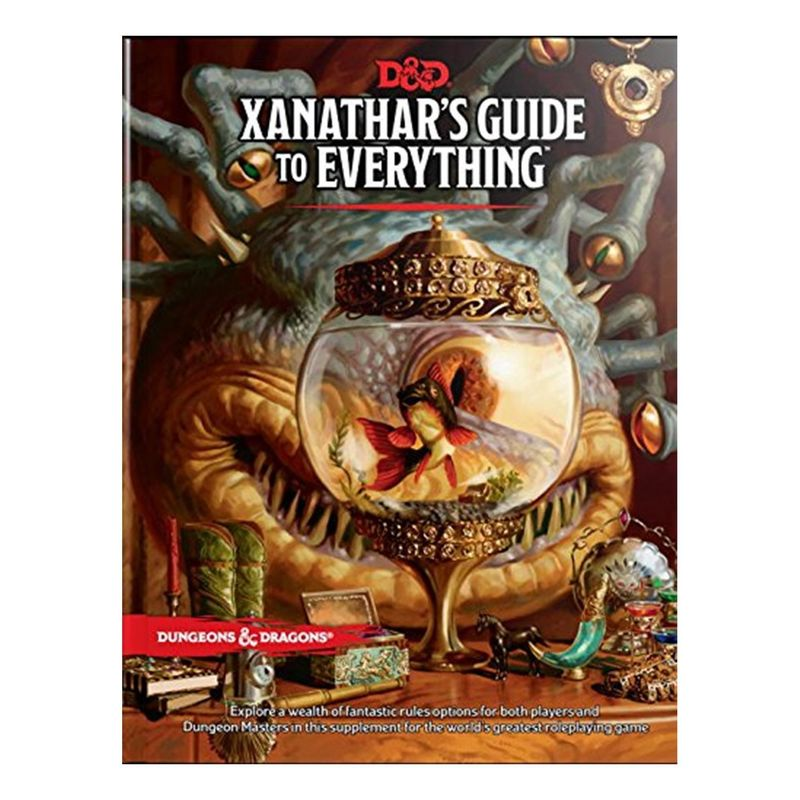 Dungeons and Dragons  Xanatharand39s Guide To Everything