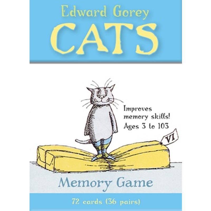 Edward Goreyand39s Cats Memory Game