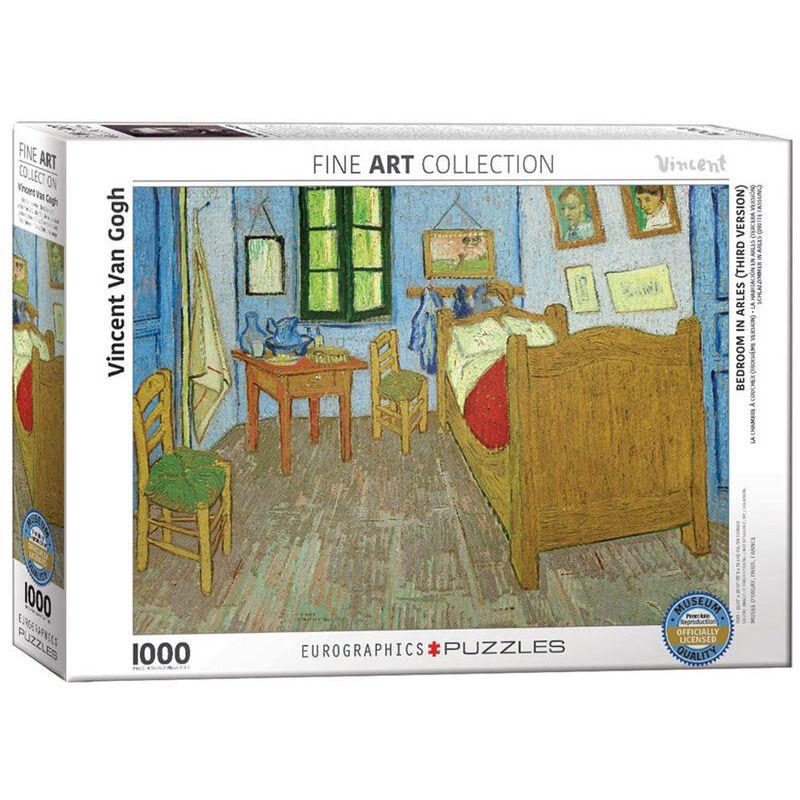 Eurographics  van Gogh Bedroom in Arles