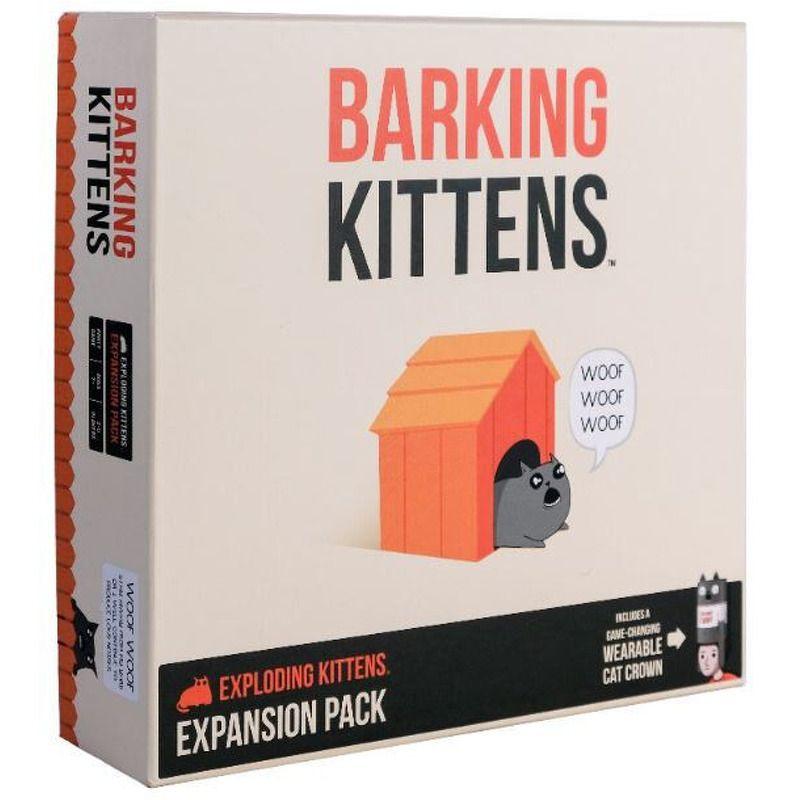 Exploding Kittens  Barking Kittens 3rd Exploding Kittens Expansion
