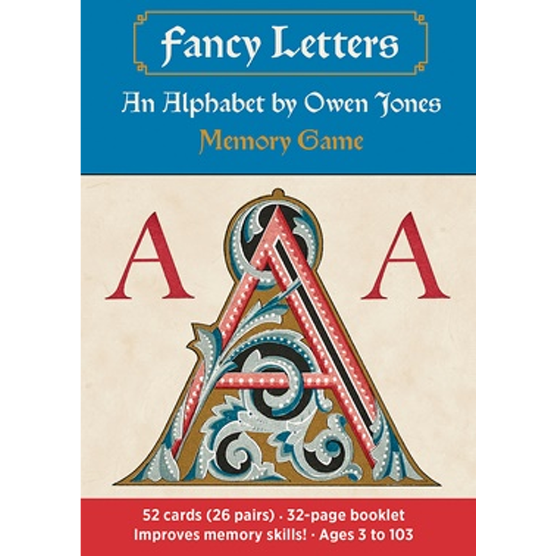 Fancy Letters An Alphabet Memory Game