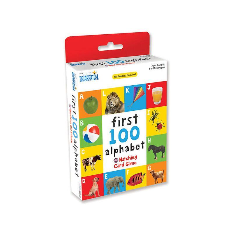 First 100 Alphabet Card Game