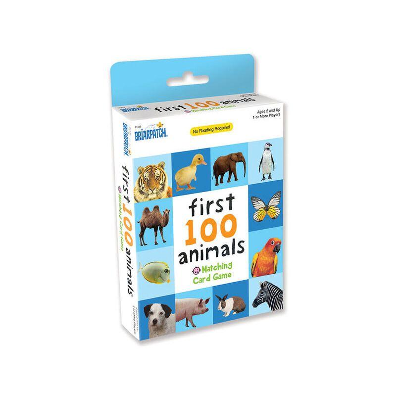 First 100 Animals Card Match