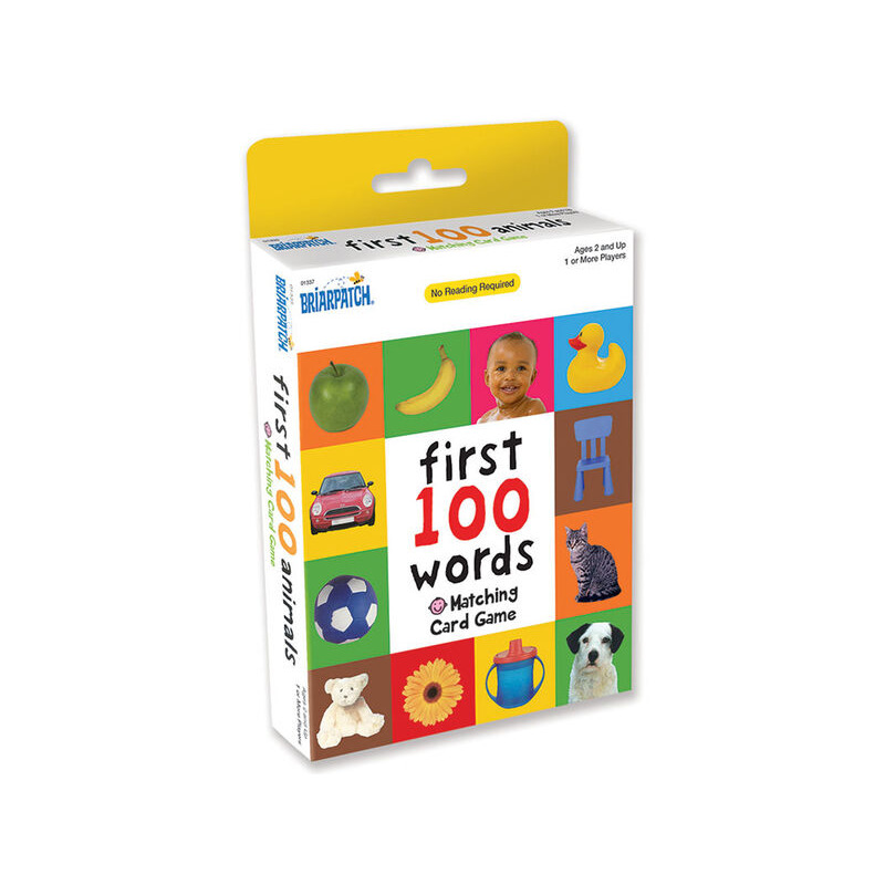 First 100 Words Card Matching