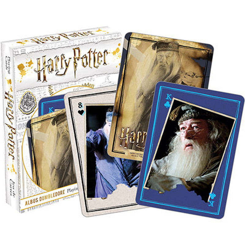Harry Potter  Dumbledore Playing Cards