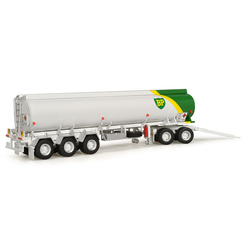 Highway Replicas  BP Tanker Trailer + Dolly Road Train
