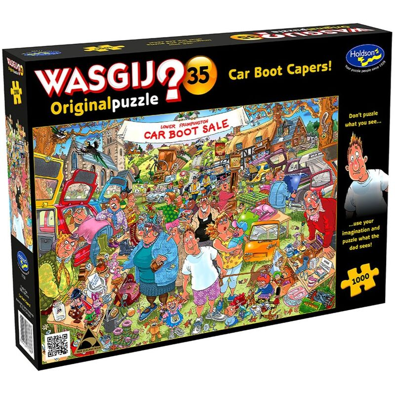 Holdson  Wasgij  Original 35 Car Boot Capers