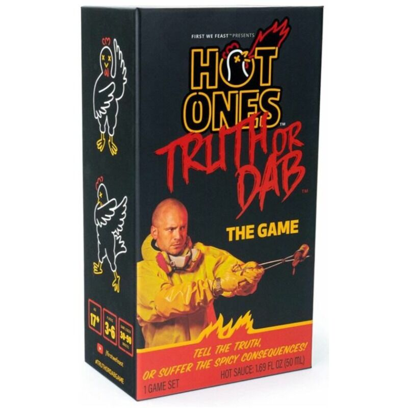Hot Ones Truth or Dab Game