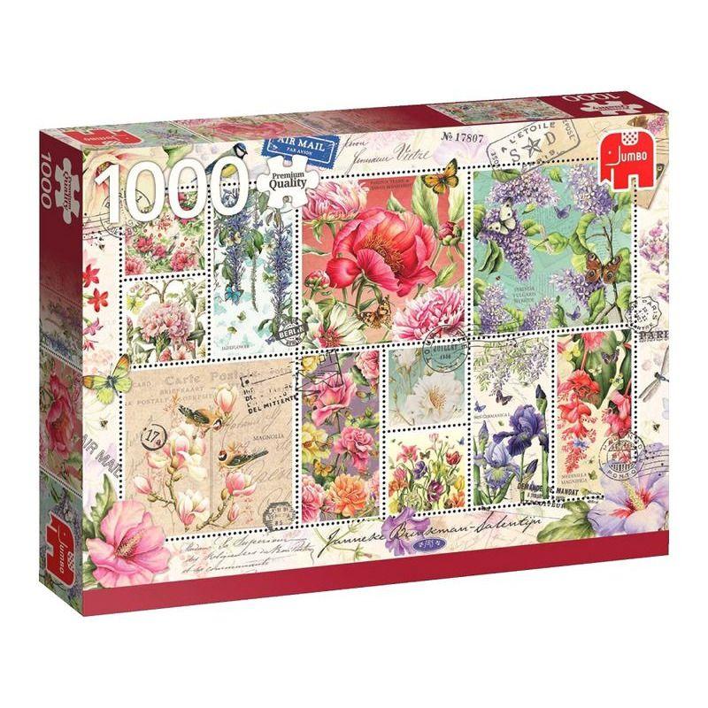 Jumbo  Flower Stamps