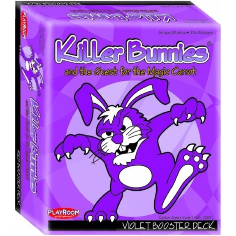 Killer Bunnies - Violet Booster