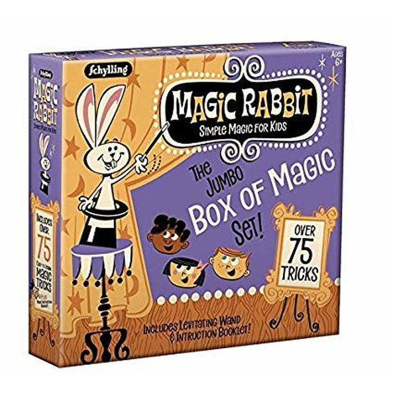 Magic Rabbit Jumbo Box of Magic Tricks