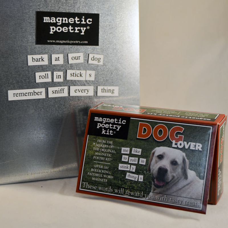Magnetic Poetry  Dog Lover