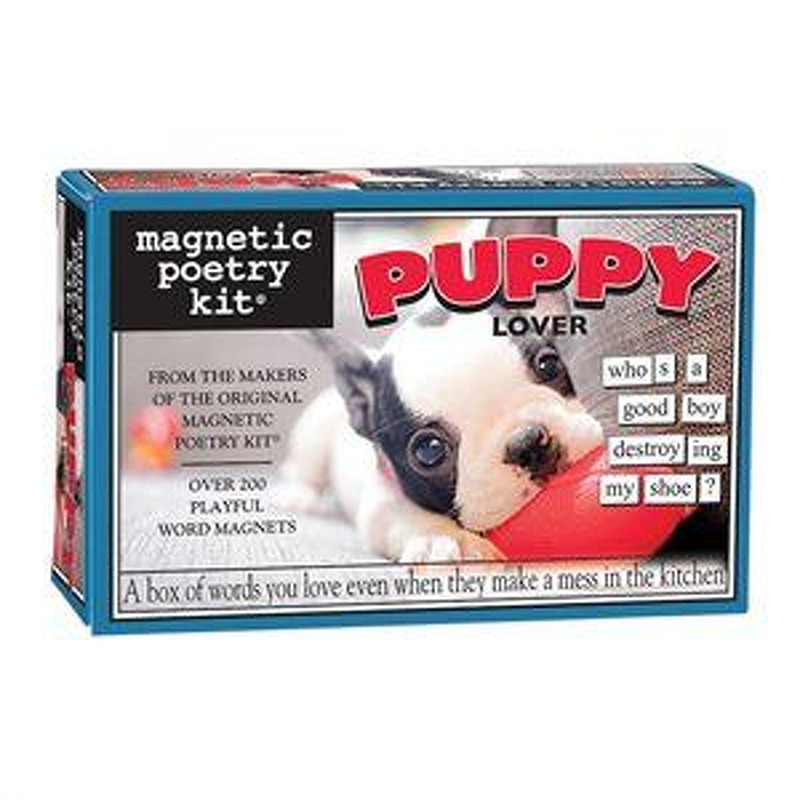 Magnetic Poetry  Puppy Lover