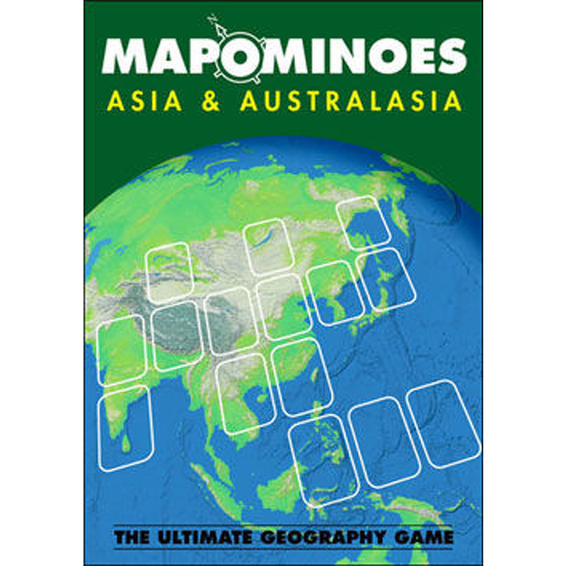 Mapominoes  Asia and Australia