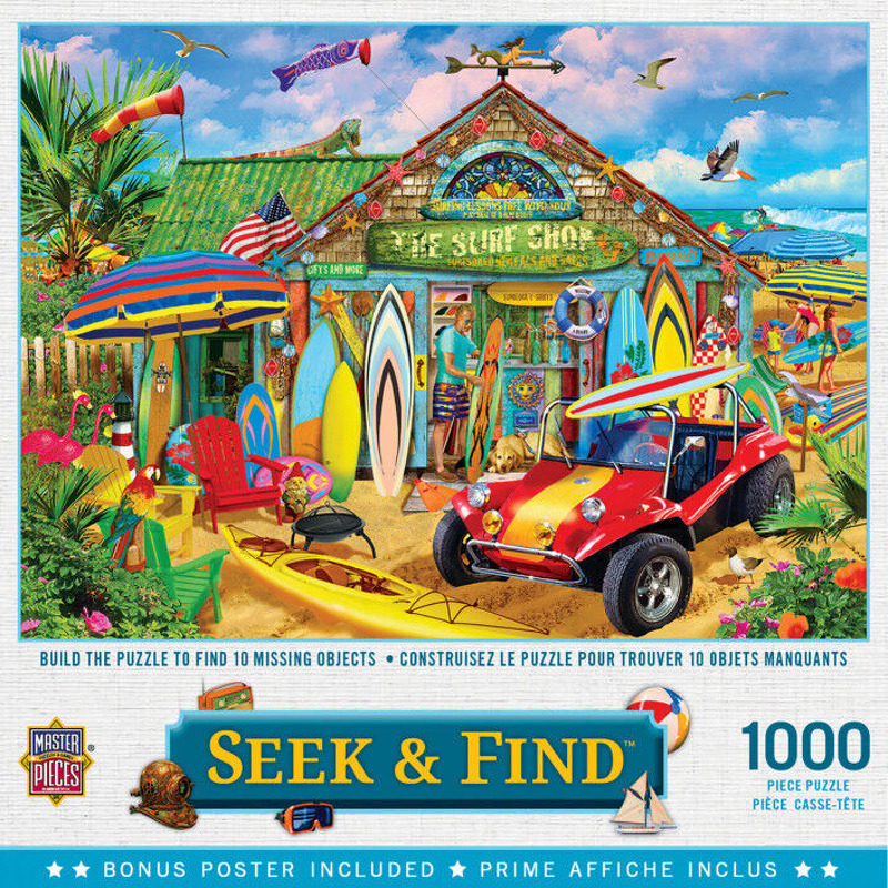 Masterpieces Puzzle  Seek andamp Find Beach Time Fun
