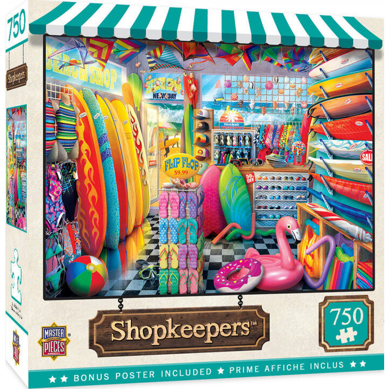 Masterpieces Puzzle  Shopkeepers Beach Side Grear