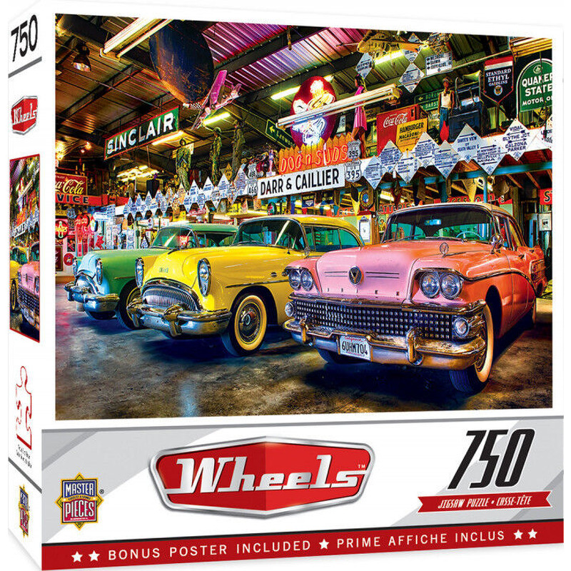 Masterpieces Puzzle  Wheels Three Beauties