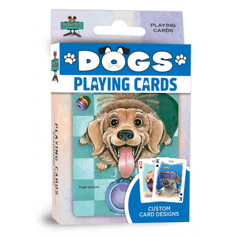 Masterpieces  Playing Cards Dogs