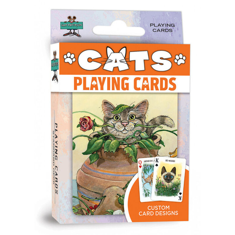 Masterpieces  Playing Cards  Single Cats